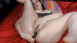 First time Anal on Webcam