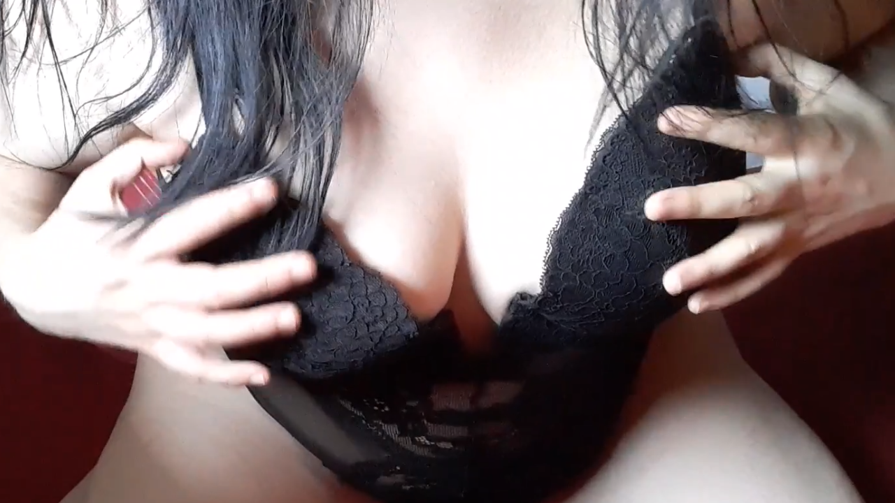 Milf Stripping and Teasing you with her Tits and Moaning - Sireah Warden