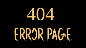 Sireah 404 Error Page